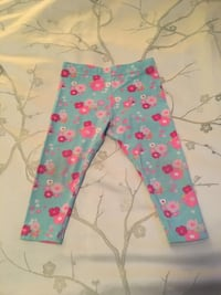 Girls 12-18 Month Floral Pants Calgary