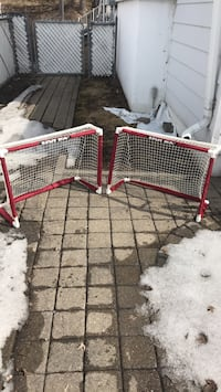 Mini hockey nets (set of two)