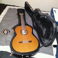Acoustic Guitar & Case Lancaster, 93535