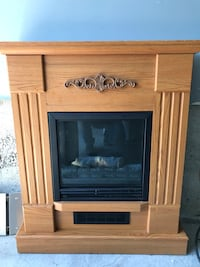 Electric fireplace  Markham, L6E 1S4