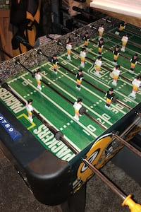 Foosball Table- Packers themed