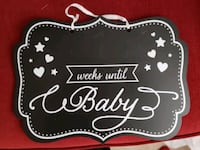 pregnancy countdown sign Milton, L9T 0G4