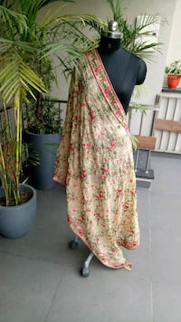 women's yellow and red floral dress Surrey, V3W 0P2