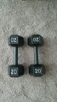 20 lb dumb bells Arlington, 22201