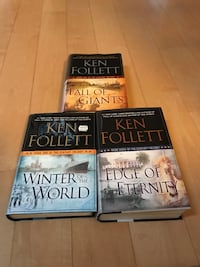 Ken Follett 3 books of The Century Trilogy  Toronto, M6L 1L1