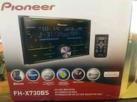 Pioneer fhx730bs 2-din head unit Alexandria, 22306