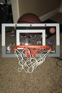Mini door basketball hoop