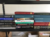 Stock market and real estate books and textbooks Weyburn, S4H 1M3