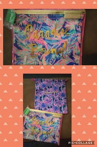 Lily Pulitzer travel organizer bags
