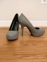 Grey faux leather heel Silver Spring, 20910