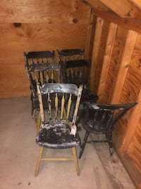 6 DIY CHAIRS Lincoln, 01731