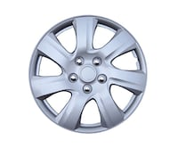 "KT-1021 Silver 17"" ABS Plastic Aftermarket Wheel Cover Richmond"