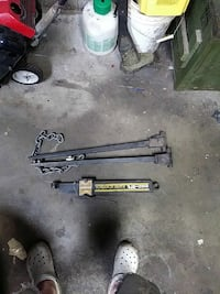black tow weight hitch attachment