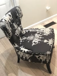 black and white floral sofa chair Raleigh, 27610