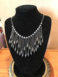 Beautiful Crystallized Silver Necklace  Gainesville, 20155