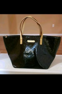 Louis Vuitton Amarante Monogram Vernis Bellevue PM Vaughan, L4K