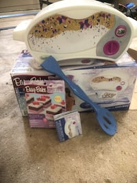 White and blue Easy Bake oven Fredericksburg, 22401