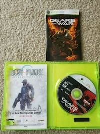 two Xbox 360 game cases Traverse City, 49686