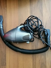 gray and black canister vacuum cleaner Victoria, V9A 2A9