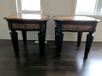 two brown wooden side tables New Tecumseth, L0G 1W0