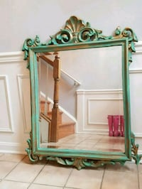 Terquois color wooden framed mirror Centreville, 20120