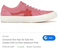 Golf Le Fleur (Tyler the creator) 9.5mens Langley, V2Y 0C3