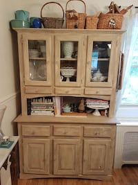 Beautiful Country buffet hutch shabby chic