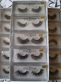 $12 FOR A PAIR  OF 3D HQ MINK EYELASHES