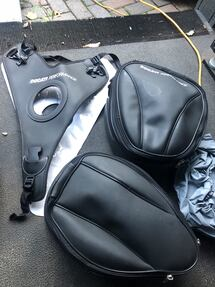 Ducati tank and tail bags