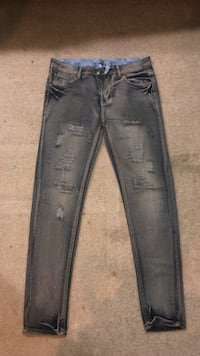 blue denim acid wash jeans 56 km
