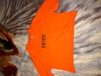 orange and white crew-neck shirt Markham, L6C 1R6