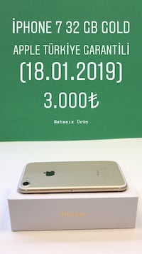 iPhone 7 32 GB GOLD İlkadım, 55060