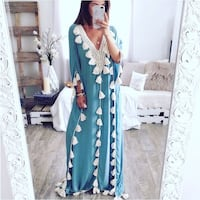 Tassle lovers long dress Abaya Mississauga, L5N 1Z4