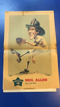 NEIL ALLEN METS DAILY NEWS SPORTS ALL STARS POSTER