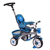 4-in-1 Detachable Handle Baby Toddler Tricycle Stroller With Canopy - Blue Brooklyn