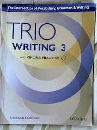 Trio writing 3 with online practice  Richmond, V6Y 1P3