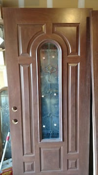 brown wooden door Las Vegas, 89106