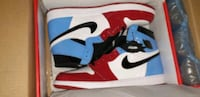 Air Jordan 1 OG fearless UNC to Chicago size 13