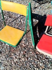 Old fold up stadium chairs Grand Junction