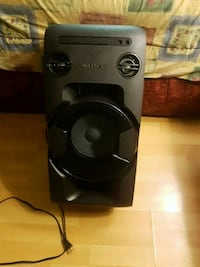 y home audio system mhc-v11