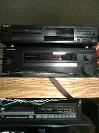 Sony cd pioneer reciever with remote Kennewick, 99337