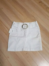 women's white denim skirt Calgary, T2M 2T4