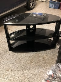 Black metal and glass TV Stand Sherwood Park, T8H 2T8