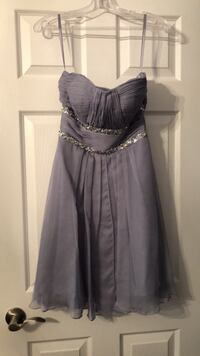 Purple/grey evening dress - size 2/4 Halton Hills, L7G 0E1