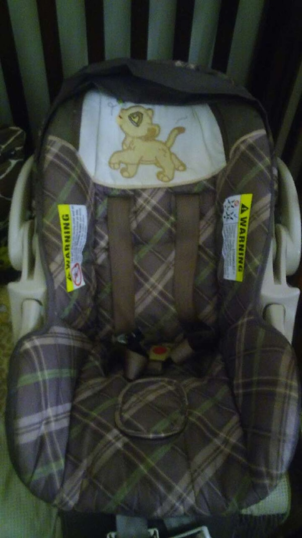 Lion King Custom Made Car Seat And Stroller