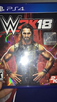 Xbox One WWE 2K17 game case Lansdale, 19446