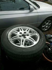 Size 16 Honda Acura rims and tires selling for 250 Sweet Home, 97386