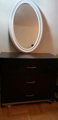 3 drawer chest and mirror  New York, 10029