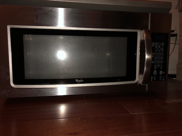 Stainless Steel Microwave Oven - Whirlpool