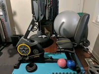 black and gray recumbent stationary bike Fayetteville, 28304